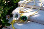R168 - Daisy - yellow rope (25€)